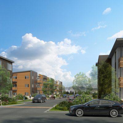 Diagonal Crossing Apartments
