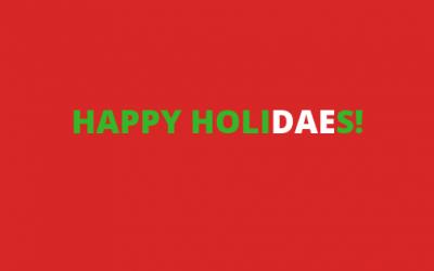 Happy HoliDAEs!