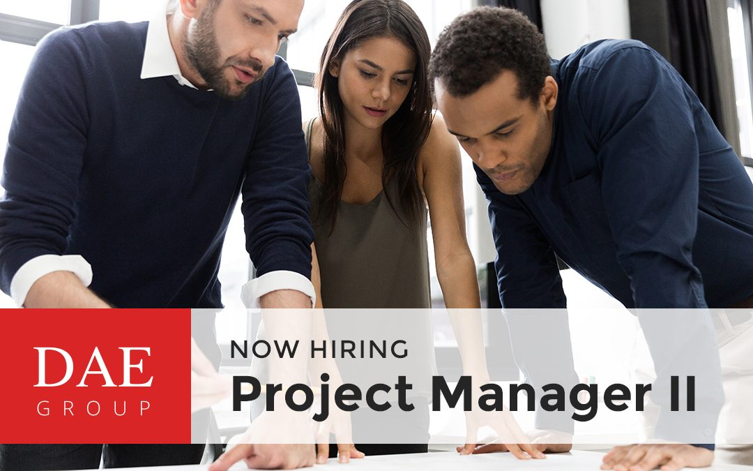 Now Hiring – Project Manager II