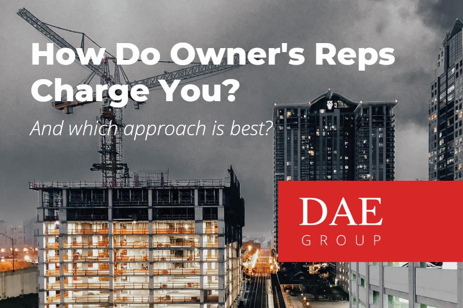 Owner Representative Fees