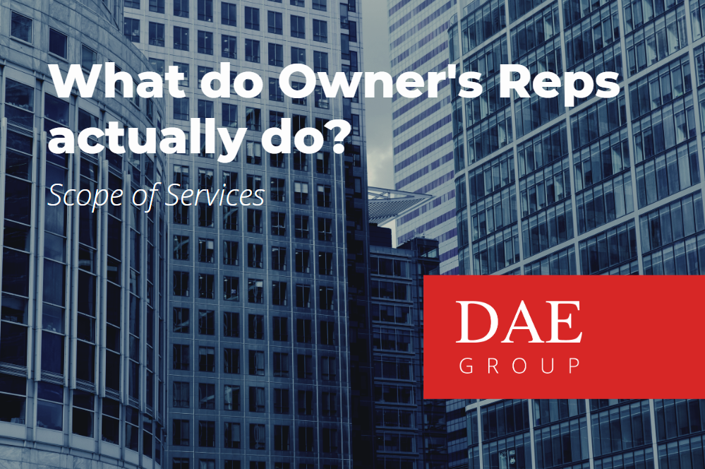 owners representative scope of services