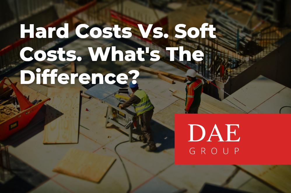 hard costs vs soft costs
