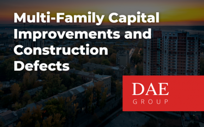 Owner's Representation for Multi-Family Capital Improvements and Construction Defects